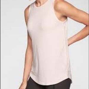 Athleta Cloudlight Relaxed Tank, Pink, Size M